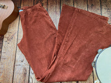 Load image into Gallery viewer, Golden Hour Bell Bottom Pants - Burnt Orange