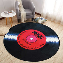 Load image into Gallery viewer, Retro Vinyl Record Rug