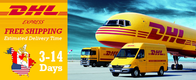 DHL Express Free Shipping to US & Canada
