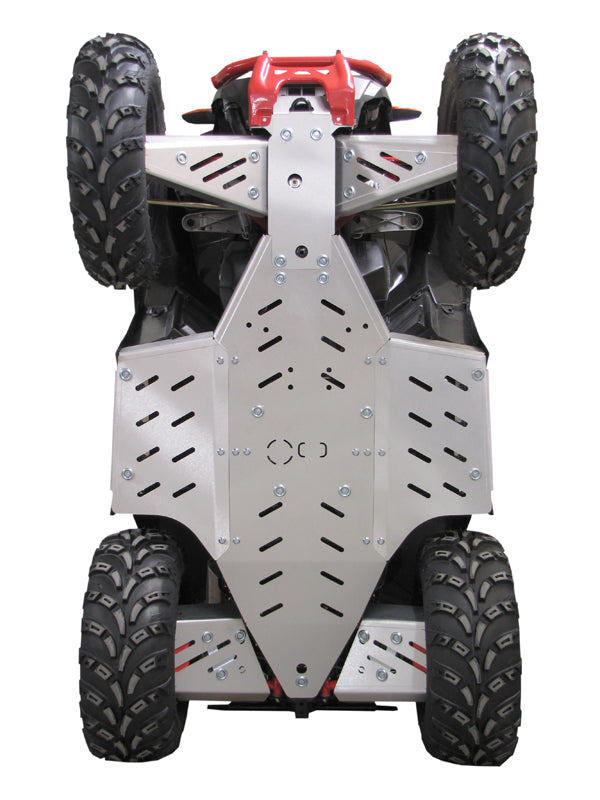 Polaris Scrambler 850 / 1000 (-2014) - Skid plate full set (aluminium)