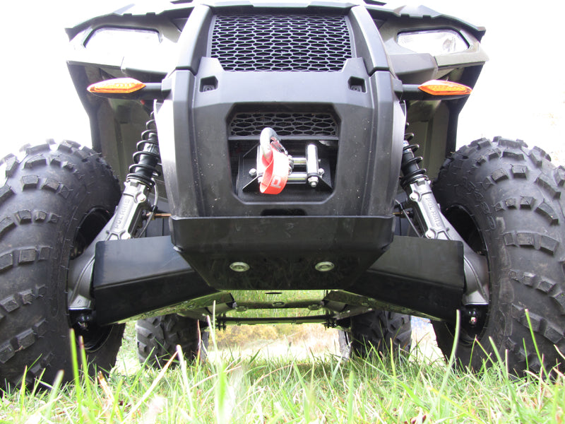 Polaris Sportsman 450 / 570 / ETX - Skid plate full set (plastic)