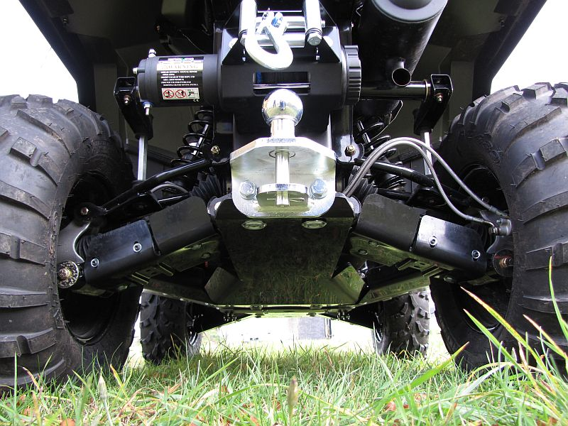 Polaris Sportsman 450 / 570 / ETX up to MY 2020 - Skid plate full set (plastic)