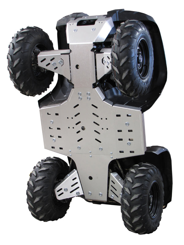 Yamaha Grizzly 700 (2014-2015) - Skid plate full set (aluminium)