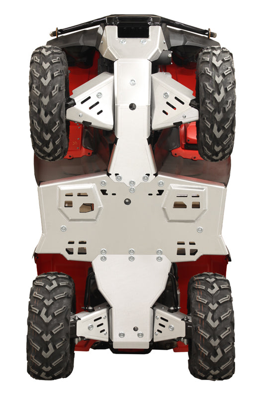 Honda Rubicon IRS 500 / 520 / Rancher IRS 420 - Skid plate full set (aluminium)