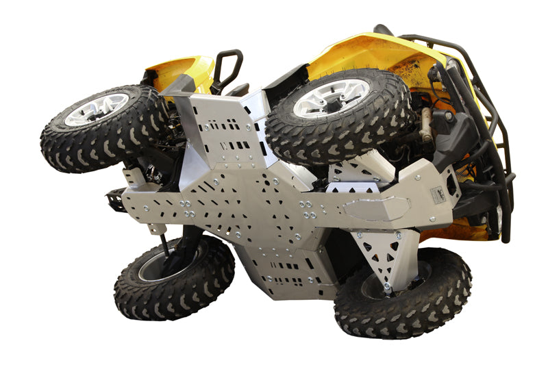 Can-Am BRP G2 Outlander MAX 450 / 500 / 570 / Outlander L MAX - Skid plate full set (aluminium)