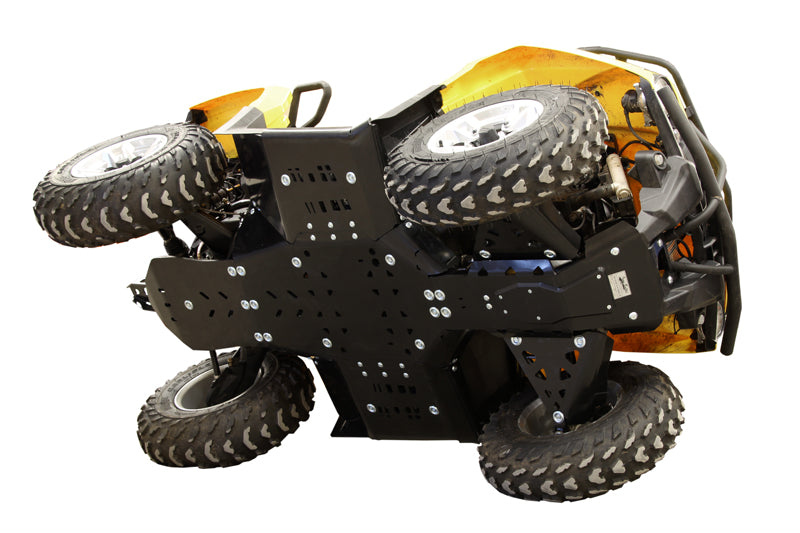 Can-Am BRP G2 Outlander MAX 450 / 500 / 570 / Outlander L MAX - Skid plate full set (plastic)