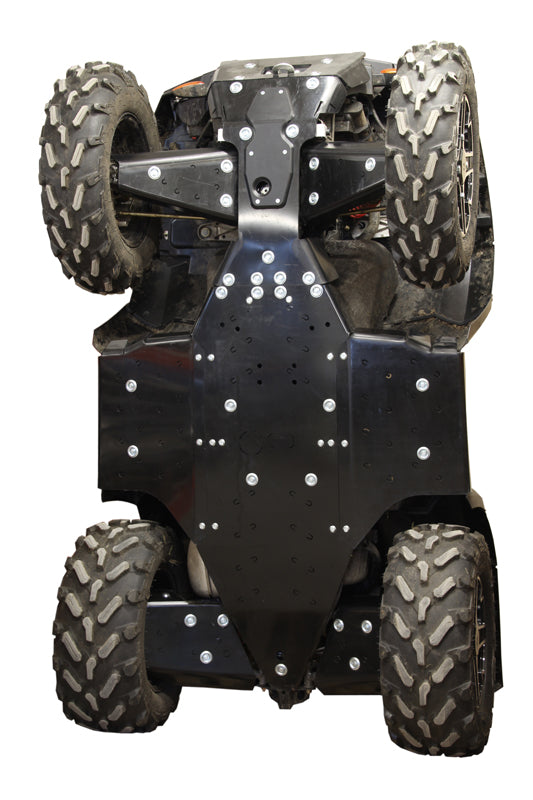 Polaris Sportsman XP 850 (2015-2016) / XP 1000 (-2016) - Skid plate full set (plastic)