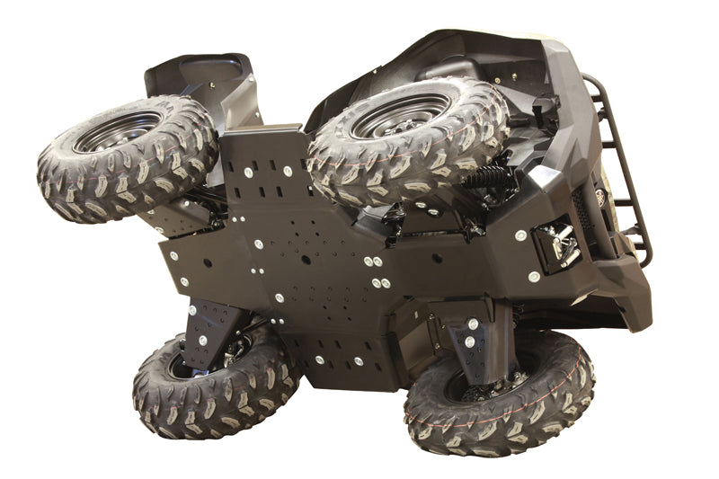 Yamaha Grizzly 700 (2016+) - Skid plate full set (plastic)