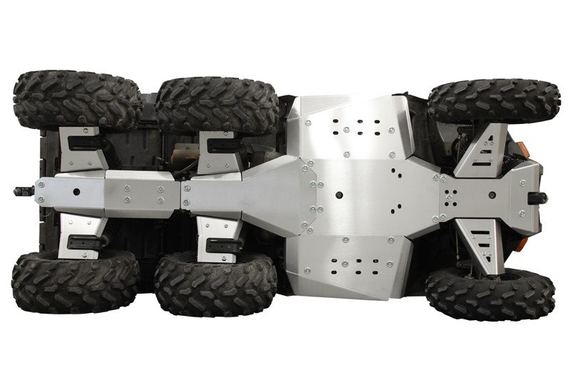 Polaris Big Boss 570 - Skid plate full set (aluminium)