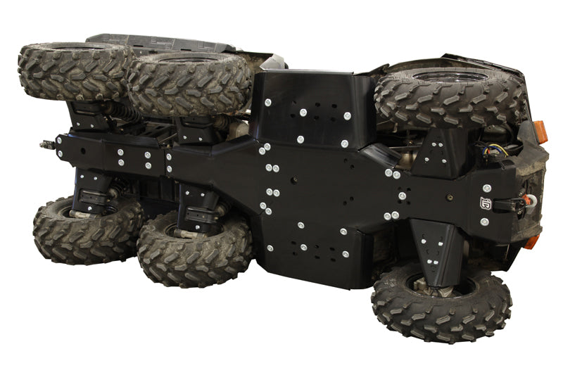 Polaris Big Boss 570 - Skid plate full set (plastic)