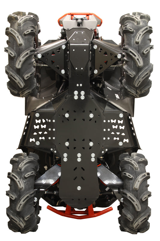 Can-Am BRP Renegade X MR (2017-2018) - Skid plate full set (plastic)