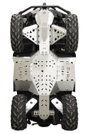 Can-Am BRP G2 Outlander MAX 650/850/1000 (2017-2018) - Skid plate full set (aluminium)