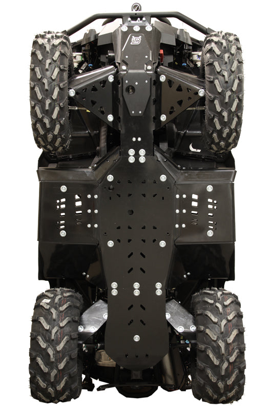 Can-Am BRP G2 Outlander MAX 650 / 850 / 1000 (2017-2018) - Skid plate full set (plastic)