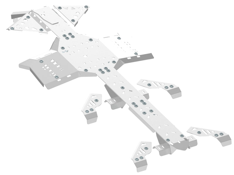 Can-Am BRP G2 Outlander 6x6 (2013-2016) - Skid plate full set (aluminium)
