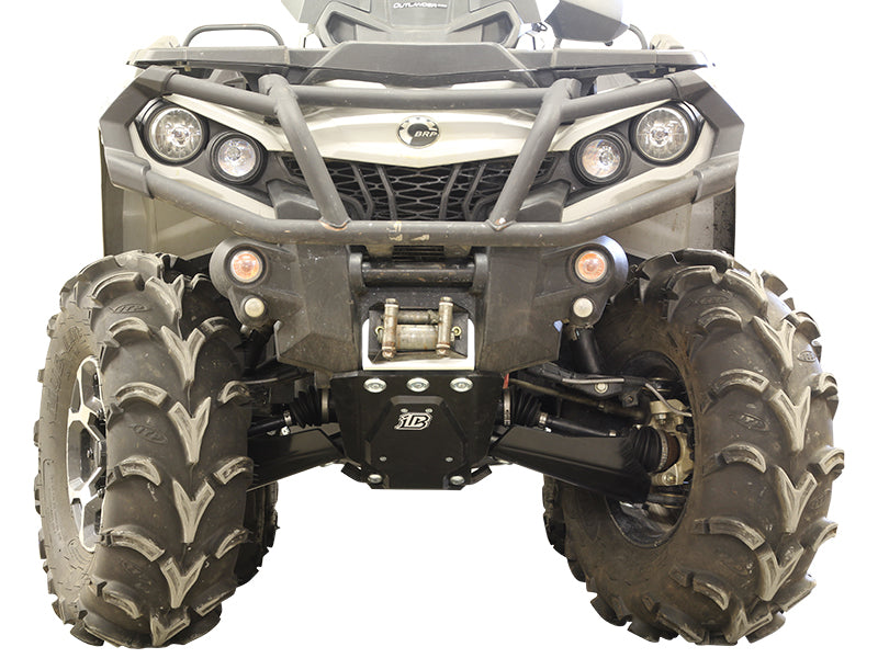 Can-Am BRP G2 Outlander 6x6 (2013-2016) - Skid plate full set (plastic)