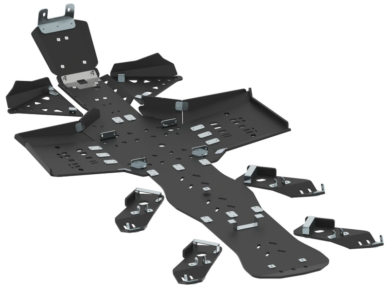 Can-Am BRP G2 Outlander 6x6 (2017-2018) - Skid plate full set (plastic)