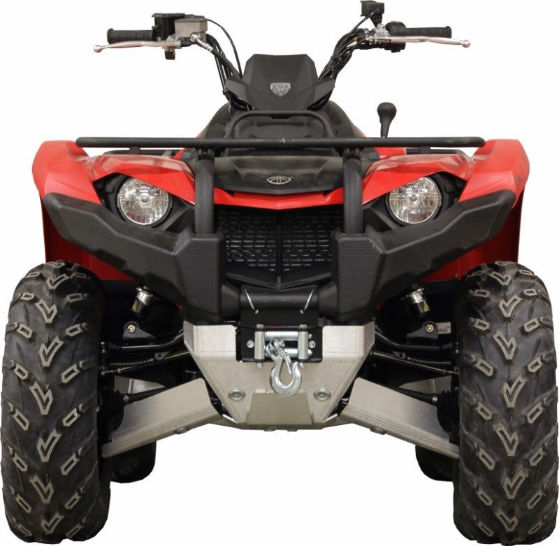 Yamaha Kodiak 450 (2017+) - Skid plate full set (aluminium)