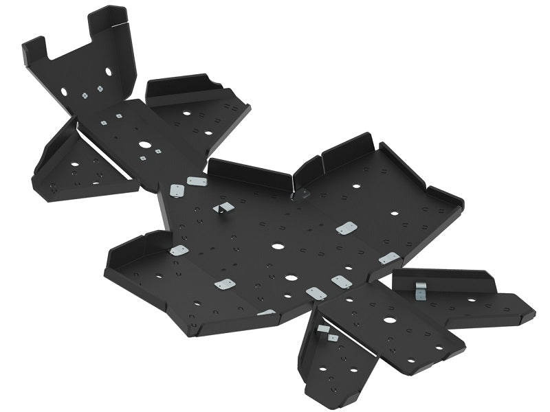 Yamaha Kodiak 450 (2017+) - Skid plate full set (plastic)