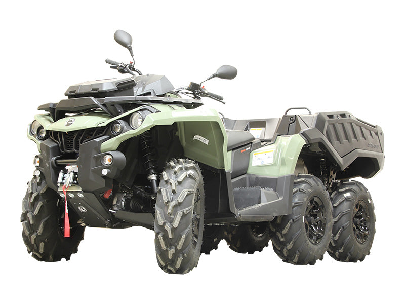 Can-Am BRP G2 Outlander 6x6 MAX (2017-2018) - Skid plate full set (plastic)