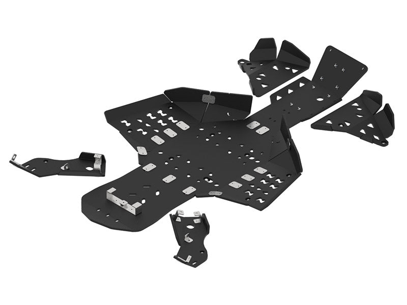 Can-Am Renegade X MR (2019+) - Skid plate full set (plastic)