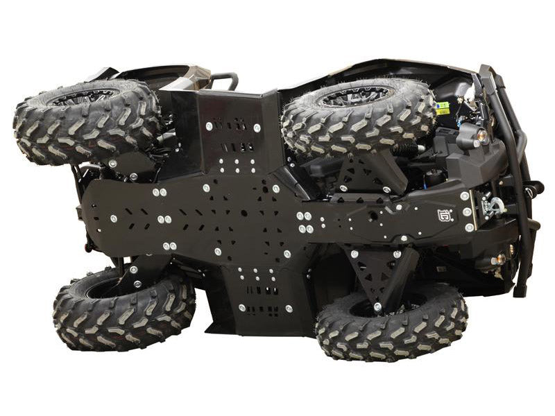 Can-Am BRP G2 Outlander MAX 650 / 850 / 1000 (2019+) - Skid plate full set (plastic)