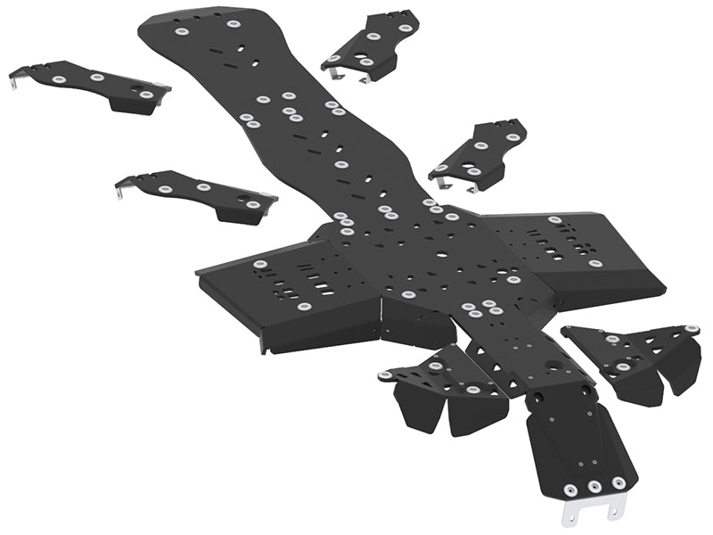Can-Am BRP G2 Outlander 6x6 (2019+) - Skid plate full set (plastic)