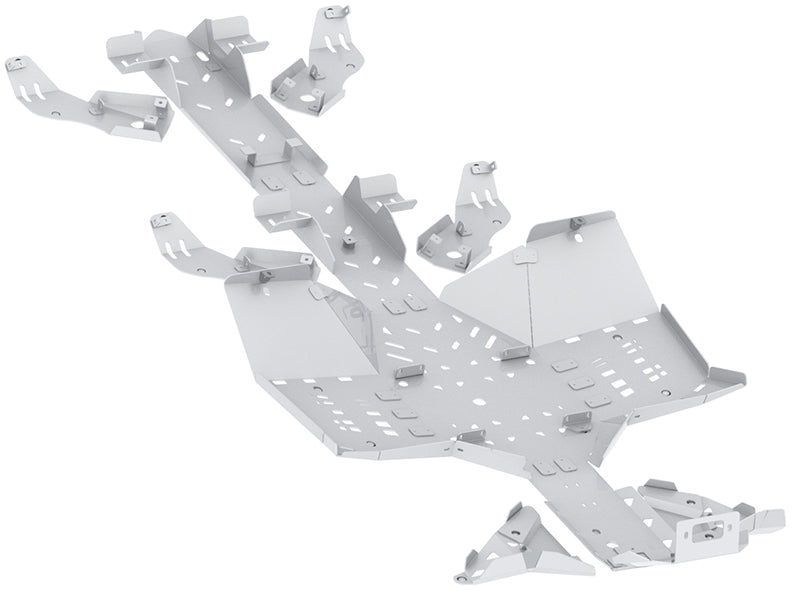 Can-Am BRP G2 Outlander 6x6 MAX (2019+) - Skid plate full set (aluminium)
