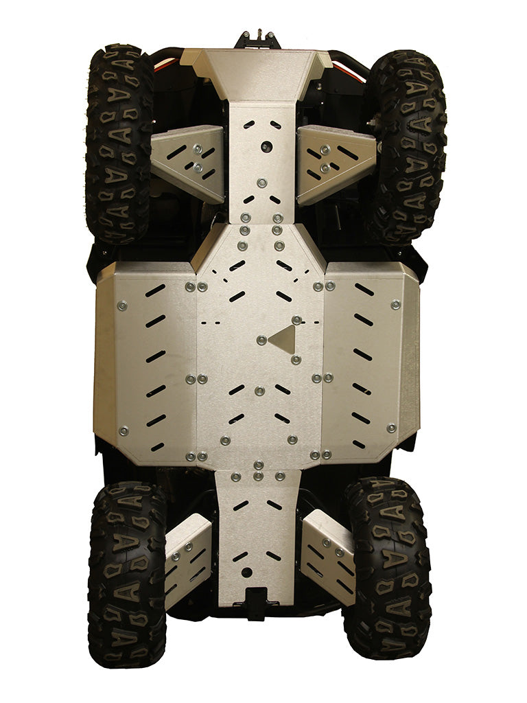 CFMOTO CFORCE 600 Touring (2 UP) - Skid plate full set (aluminium)