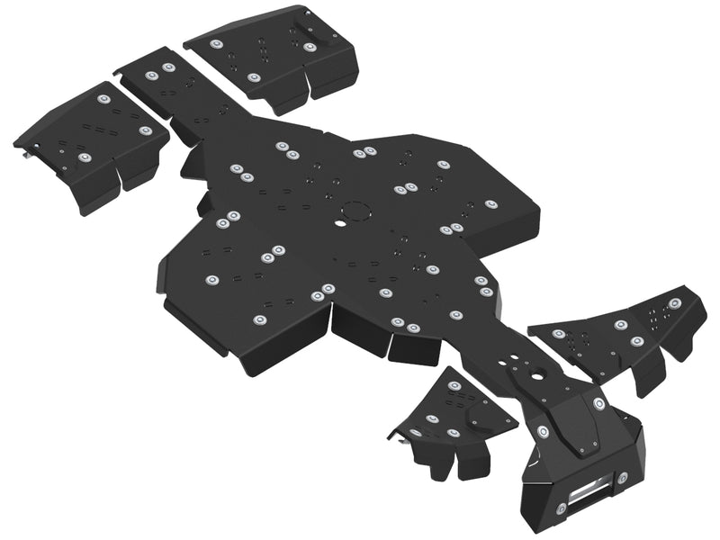 Polaris Sportsman XP 1000 S - Skid plate full set (plastic)