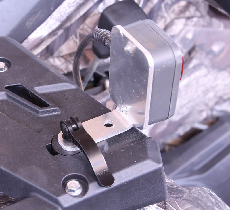 Eccentric clamp 22mm for CFMOTO KIT of 4 pcs
