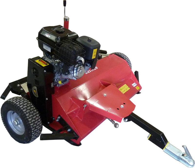 Tow behind ATV Flail mower 14hp - (Briggs & Stratton)