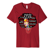 Charger l'image dans la galerie, Funny shirts V-neck Tank top Hoodie sweatshirt usa uk au ca gifts for Delta Sorority Natural Hair Woman Sigma Theta Paraphernal 1278959