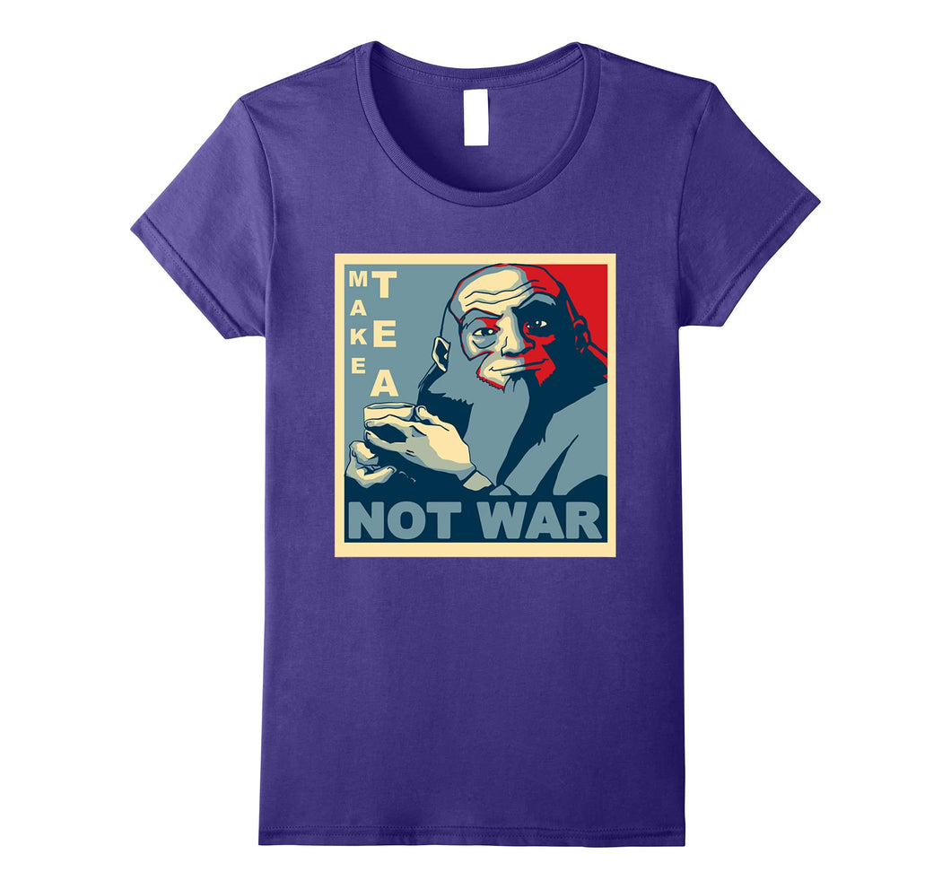 Funny shirts V-neck Tank top Hoodie sweatshirt usa uk au ca gifts for Make Tea Not War - Peaceful Samurai Tea Drinker T Shirt - 2217925