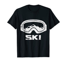 Charger l'image dans la galerie, Skiing Snow Ski Skier Winter Sports Cool Gift Idea T-Shirt