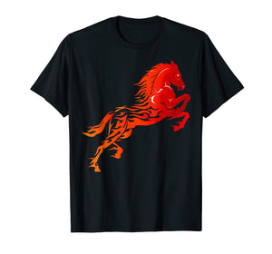 Funny shirts V-neck Tank top Hoodie sweatshirt usa uk au ca gifts for Red horse sunset t shirt horse lovers 2389055