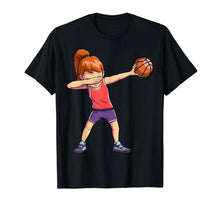 Charger l'image dans la galerie, Funny shirts V-neck Tank top Hoodie sweatshirt usa uk au ca gifts for Dabbing Basketball T Shirt Girl Dab Dance T-shirt Gifts Tees 1527122