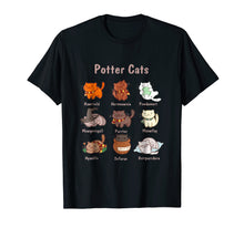 Charger l'image dans la galerie, Potter Cats t-shirt, Funny Gifts For Cat Lovers Tshirt