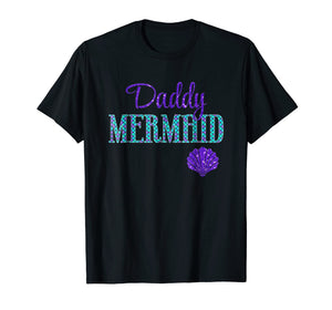 Funny shirts V-neck Tank top Hoodie sweatshirt usa uk au ca gifts for Mens Daddy Mermaid T-Shirt 2025446