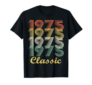 Funny shirts V-neck Tank top Hoodie sweatshirt usa uk au ca gifts for Vintage 1975 T-Shirt - 44th Birthday Gift For Men And Women 1231101