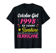 Charger l'image dans la galerie, October Girl 1998 TShirt 21st Birthday Gift 21 Years Old T-Shirt