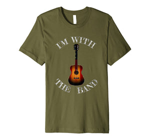 Funny shirts V-neck Tank top Hoodie sweatshirt usa uk au ca gifts for I'm With The Band T-Shirt 1474182