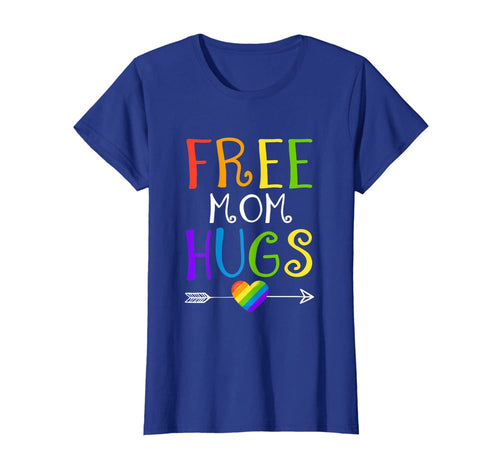 Womens Free Mom Hugs LGBT T Shirt Mother's Day Gifts 47766
