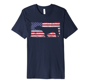 Funny shirts V-neck Tank top Hoodie sweatshirt usa uk au ca gifts for German Shorthaired Pointer American Flag Shirt Patriotic 2427950