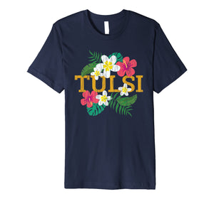 Funny shirts V-neck Tank top Hoodie sweatshirt usa uk au ca gifts for Tulsi Gabbard for President 2020 Distressed Hawaii  Premium T-Shirt 2520005