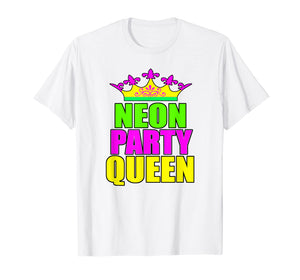 Party Queen Birthday Party Shirt