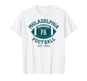 Philadelphia Football Vintage Philly Retro Eagle Gift T-Shirt