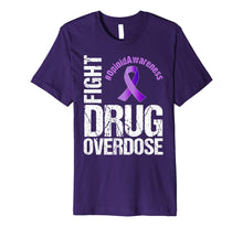Charger l'image dans la galerie, Funny shirts V-neck Tank top Hoodie sweatshirt usa uk au ca gifts for Fight Drug Overdose Opioid Awareness Graphic T-Shirt 2328948