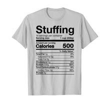 Charger l'image dans la galerie, Stuffing Nutrition Funny Thanksgiving Costume T-Shirt