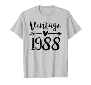 Funny shirts V-neck Tank top Hoodie sweatshirt usa uk au ca gifts for Vintage 1988 Cute Birthday Women Gift 31th Birthday Shirt 1471765