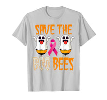 Charger l'image dans la galerie, Save the Boo Bees Breast Awareness Pink Ribbon Halloween T-Shirt